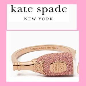 Kate Spade Make Magic Champagne Bangle Bracelet